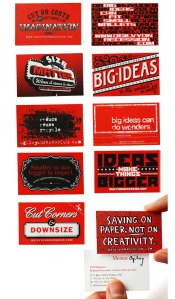 Ogilvy business cards